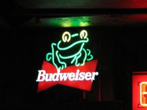 Budweiser Frog