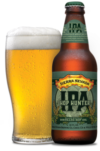 Sierra Nevada's Hop Hunter is the beer we tasted on this show