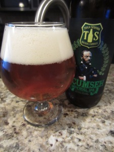 Tecumseh Imperial IPA - A fine brew from Tioga Sequoia in Fresno!