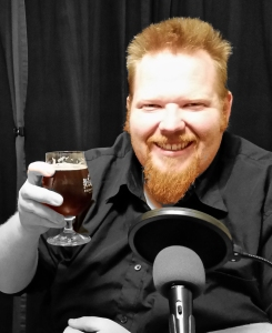 Drew is enjoying The Devil Went Down to Oregon, this week's showbeer!