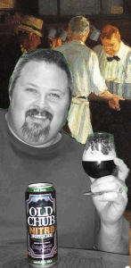 The Scotsman enjoys the Show Beer for the Nitrogen Show. Rich, malty, sweet, and everything he wants a Scotch Ale to be!