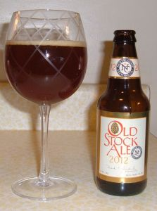 A properly aged 2012 Old Stock Ale will be rich, full of toffee aromas and flavors, dark dates and figs, and a subdued alcohol burn. Was that the Scotsman's and Drew's experience?