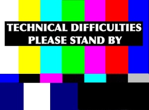 Due to technical difficulties, we're having problems uploading the show. Stay tuned!
