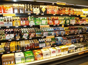 A pretty good beer selection, yeah? You might be surprised...