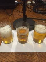Three versions of Stone's Cali-Belgique. Old, Older, and Fresh