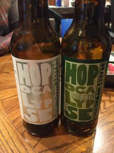 The Green and White bottles side by side. It's a pretty sight, isn't it?