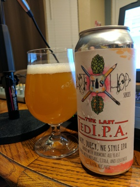 Hazy, luscious, and wonderful. The Force was definitely with us when we drank this!